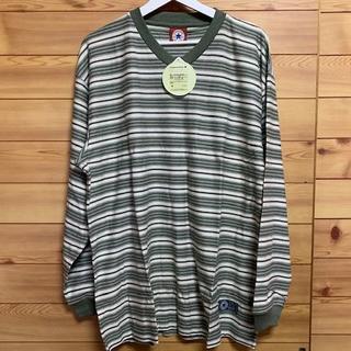 コンバース(CONVERSE)の長袖Vネックシャツ コンバース LLサイズ(Tシャツ/カットソー(七分/長袖))