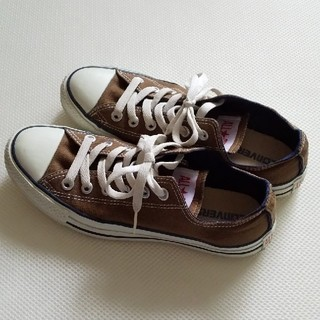 CONVERSE - 【USED】CONVERSE  ALL STAR /ブラウン/US5.5