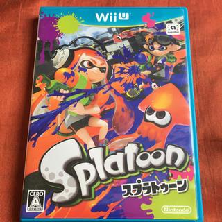 ウィーユー(Wii U)のSplatoon(スプラトゥーン) Wii U ソフト カセット(家庭用ゲームソフト)
