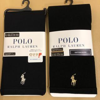 ポロラルフローレン(POLO RALPH LAUREN)のかほいぶ様専用 新品 女性 ポロラルフローレン 7分&10丈黒レギンス2点(レギンス/スパッツ)