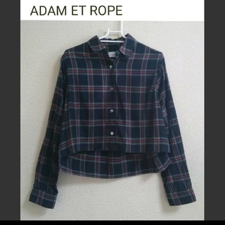 Adam et Rope' - ADAM ET ROPE 薄手長袖シャツ Mサイズ