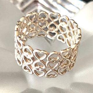 ティファニー(Tiffany & Co.)のティファニー ハートがいっぱいリング❤︎❤︎❤︎(リング(指輪))