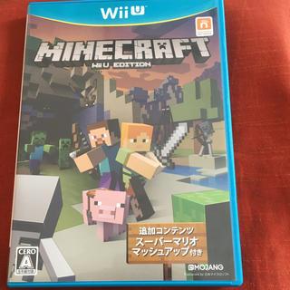 ウィーユー(Wii U)のMinecraft マインクラフト マイクラ wiiu ソフト カセット(家庭用ゲームソフト)