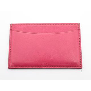 カルティエ(Cartier)の《Cartier/カードケース》Bランク SL051163 ピンクコンパクト (名刺入れ/定期入れ)