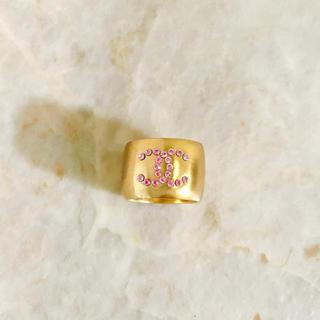 シャネル(CHANEL)の正規品 シャネル 指輪 ゴールド ココマーク ハート 石 リバーシブル リング(リング(指輪))