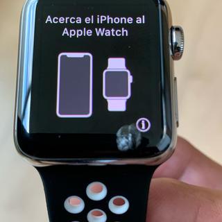 アップルウォッチ(Apple Watch)のApple Watch series3 cellular 38mm(腕時計(デジタル))