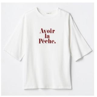 しまむら - しまむら プチプラのあや ロゴプリントTシャツ