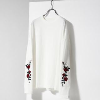 ハレ(HARE)のローズシシュウカットソー(HARE)(Tシャツ/カットソー(半袖/袖なし))