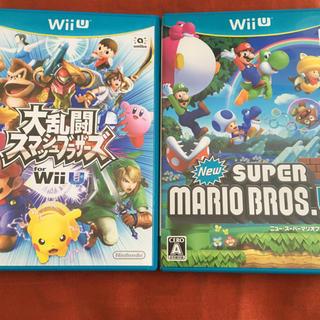 ウィーユー(Wii U)の大乱闘スマッシュブラザーズ New スーパーマリオブラザーズ・U wiiu (家庭用ゲームソフト)