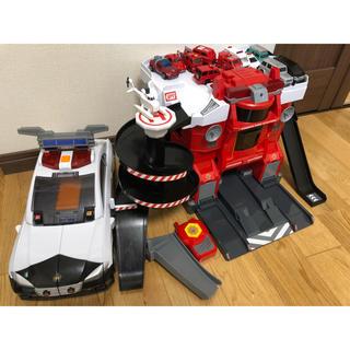 Takara Tomy - トミカ ファイヤーステーション + デカパトロールカー