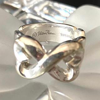 ティファニー(Tiffany & Co.)のティファニー ダブルラヴィングハート リング(リング(指輪))