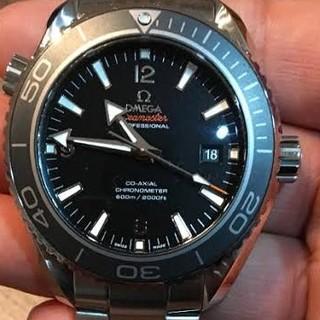オメガ(OMEGA)の美品 プラネットオーシャン オメガ(腕時計(アナログ))