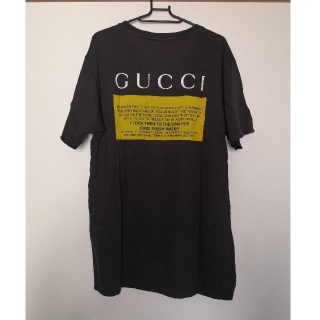 Gucci(グッチ)の値下げGUCCI グッチ18SS BLACK CAT ブラックキャット メンズのトップス(Tシャツ/カットソー(半袖/袖なし))の商品写真
