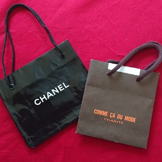 シャネル(CHANEL)のショップ袋【CHANEL】【COMME CA DU MODE】(ショップ袋)