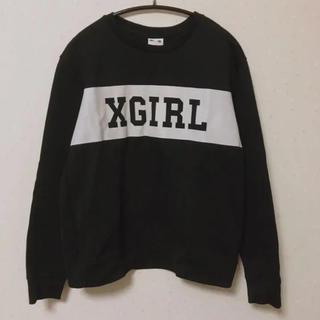X-girl - X-girl スウェット トレーナー