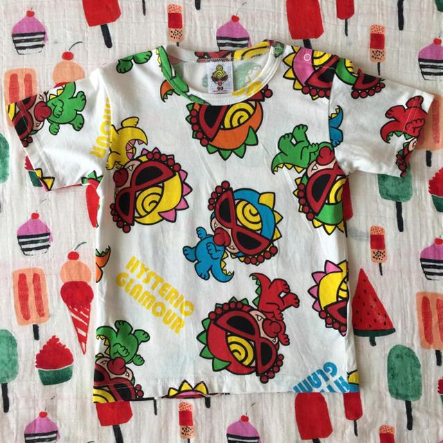 HYSTERIC MINI(ヒステリックミニ)のミニラ達Tシャツ♡(*´ω`σ)σ90㎝ キッズ/ベビー/マタニティのキッズ服女の子用(90cm~)(Tシャツ/カットソー)の商品写真