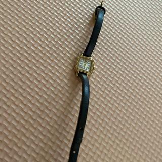 バーニーズニューヨーク(BARNEYS NEW YORK)のHIROB 時計 黒(腕時計)