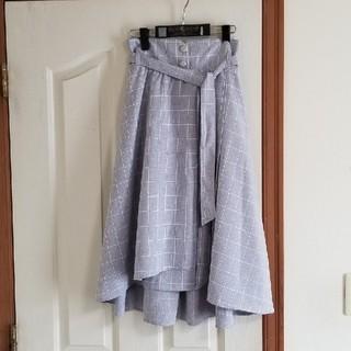 MAJESTIC LEGON - MAJESTIC LEGON ベルト付き巻きスカート