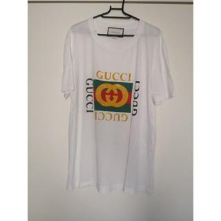 グッチ(Gucci)の最終値下げGUCCIグッチ ヴィンテージ ロゴ ダメージ 加工 Tシャツ(Tシャツ/カットソー(半袖/袖なし))