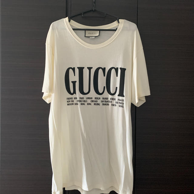 Gucci(グッチ)のGucci オーバーロゴTシャツ メンズのトップス(Tシャツ/カットソー(半袖/袖なし))の商品写真