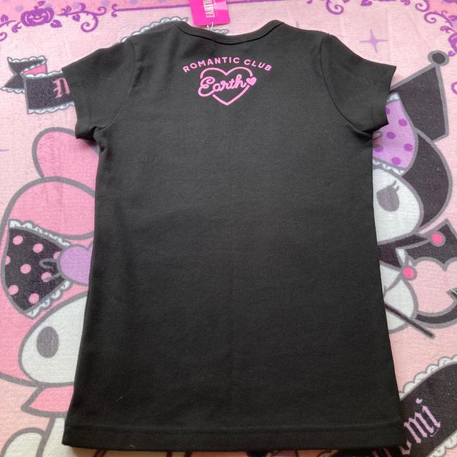 EARTHMAGIC(アースマジック)の新品タグ付き Tシャツ キッズ/ベビー/マタニティのキッズ服女の子用(90cm~)(Tシャツ/カットソー)の商品写真