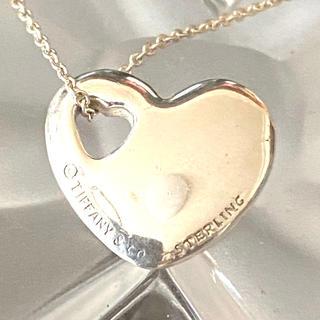 ティファニー(Tiffany & Co.)のティファニー シルバーネックレス ハート(ネックレス)