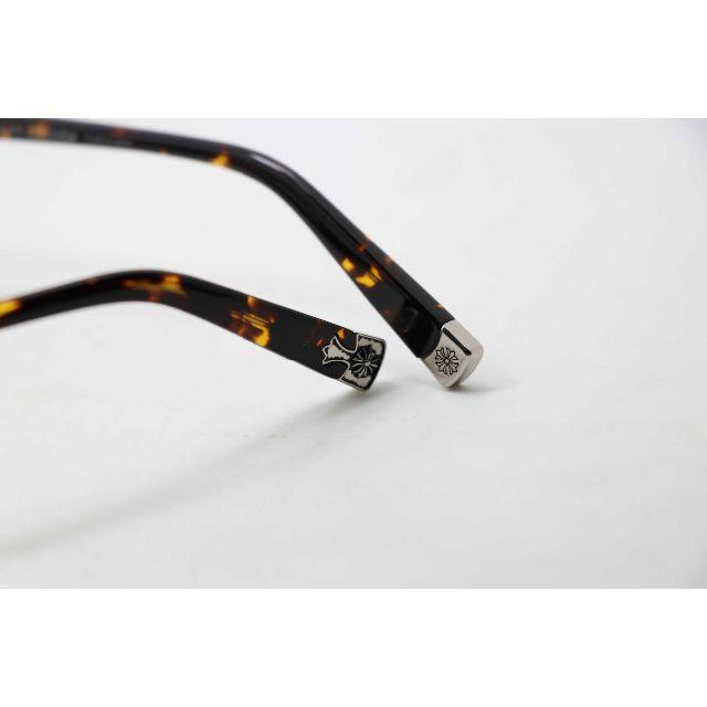 Chrome Hearts(クロムハーツ)の新品 伊達メガネ メガネフレーム クロムハーツ FUN HATCH べっ甲 メンズのファッション小物(サングラス/メガネ)の商品写真