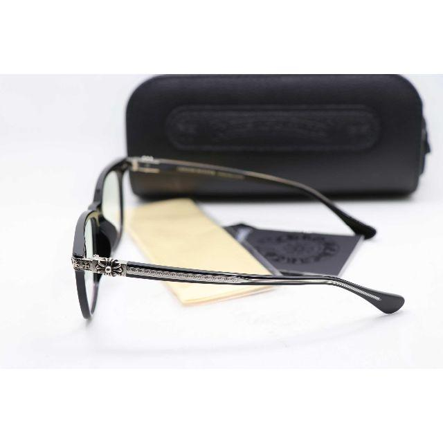 Chrome Hearts(クロムハーツ)の新品 クロムハーツ メガネフレーム 伊達メガネ GISS 黒 メンズのファッション小物(サングラス/メガネ)の商品写真