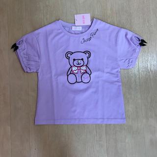mezzo piano - メゾピアノ☆くまTシャツ☆120