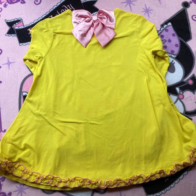 EARTHMAGIC(アースマジック)のAライン ロンT キッズ/ベビー/マタニティのキッズ服女の子用(90cm~)(Tシャツ/カットソー)の商品写真
