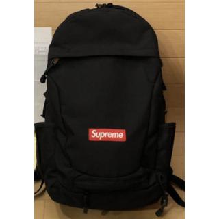 Supreme - 12AW Supreme Backpack Black シュプリーム リュック