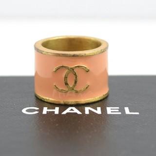 シャネル(CHANEL)の【USED】CHANEL シャネル ココマーク リング 13~14号 箱付き(リング(指輪))