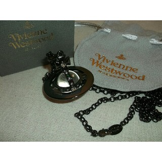 Vivienne Westwood - ヴィヴィアンウエストウッド スモールオーブネックレス ブラック
