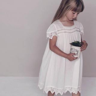 Caramel baby&child  - FAUNE skylark old white 2-4y