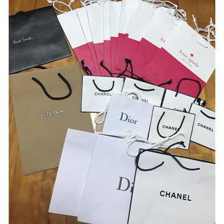 シャネル(CHANEL)のショップ袋 おまとめ Dior CHANEL Kate spade(ショップ袋)