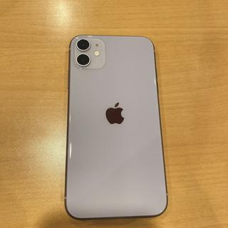 iPhone - 【新品未使用】iPhone11 パープル 64G