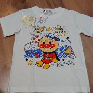 バンダイ(BANDAI)の新品 未使用 タグ付き アンパンマンTシャツ 110cm(Tシャツ/カットソー)