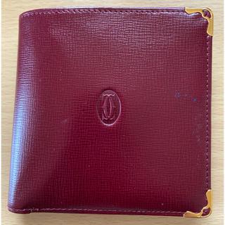 Cartier - カルティエ マストライン 二つ折り財布
