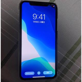 Apple - iPhoneX 64GB シルバー シムフリー