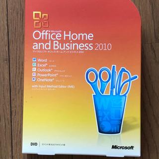 Microsoft - office home&business 2010 パッケージ版 中古