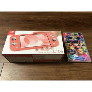 Nintendo Switch - Nintendo switch lite本体+マリオカート8 デラックス 新品