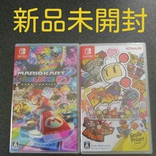 ニンテンドースイッチ(Nintendo Switch)のマリオカート8 デラックス + スーパーボンバーマン R(家庭用ゲームソフト)