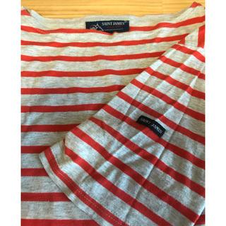 セントジェームス(SAINT JAMES)の8/8まで販売!SAINT JAMES PIRIAC オレンジ 半袖 ピリアック(Tシャツ(半袖/袖なし))