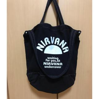 UNDERCOVER - undercover トートバック nirvana アンダーカバー ニルバーナ