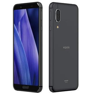 アクオス(AQUOS)のSHARP AQUOS sense3 ブラック SH-M12-B(スマートフォン本体)