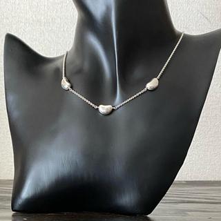 ティファニー(Tiffany & Co.)のティファニー トリプルビーンズ ネックレス(ネックレス)