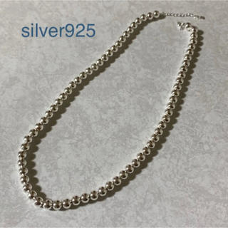BEAUTY&YOUTH UNITED ARROWS - silver925  ナバホパール ボールチェーン ネックレス