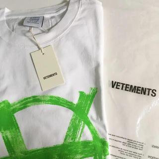 Balenciaga - 【世界完売】VETEMENTS アナーキーロゴTシャツ L