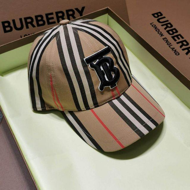BURBERRY(バーバリー)のバーバリー♪モノグラムベースボールキャップ メンズの帽子(キャップ)の商品写真