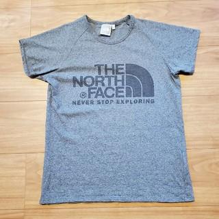 THE NORTH FACE - 未使用に近い ノースフェイス レディースTシャツ グレーMサイズ
